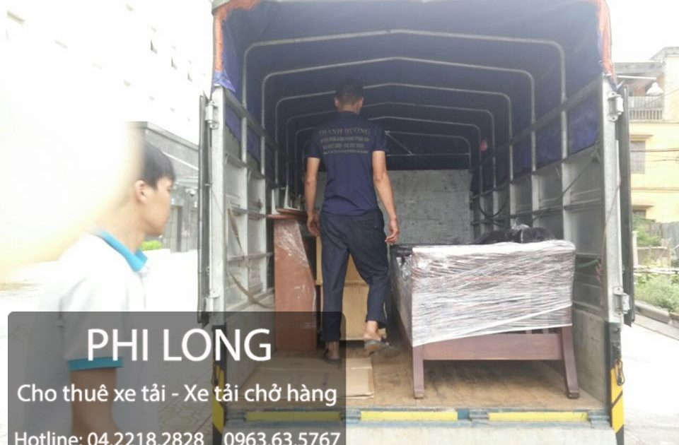 Dịch vụ cho thuê xe tải chở hàng tại đường Văn Phú