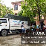 Taxi tải Phi Long cho thuê xe tải giá rẻ chuyên nghiệp tại phố Yết Kiêu