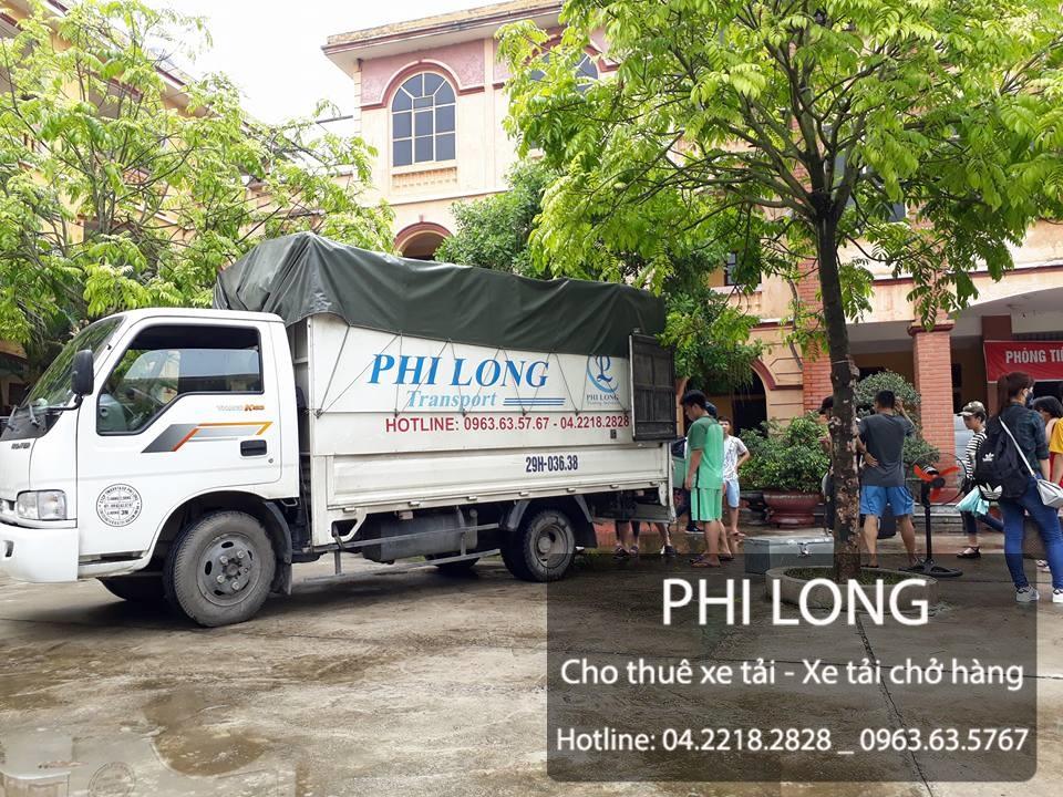 Cho thuê xe tải chở hàng tại đường Văn Phú
