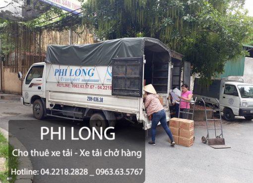 Cho thuê xe tải Phi Long tại phố Ngô Thi Sỹ