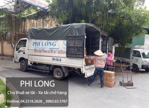 Dịch vụ cho thuê xe tải chở hàng giá rẻ tại phố Thanh Bình