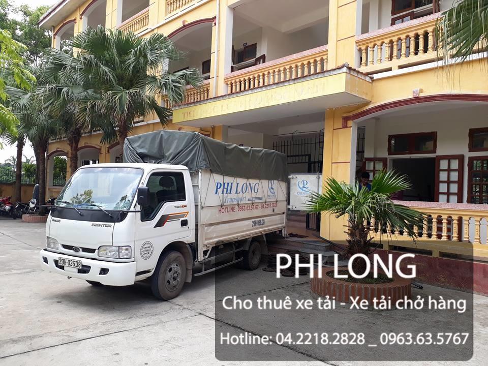 Phi Long cho thuê xe tải chở hàng tại phố Yết Kiêu