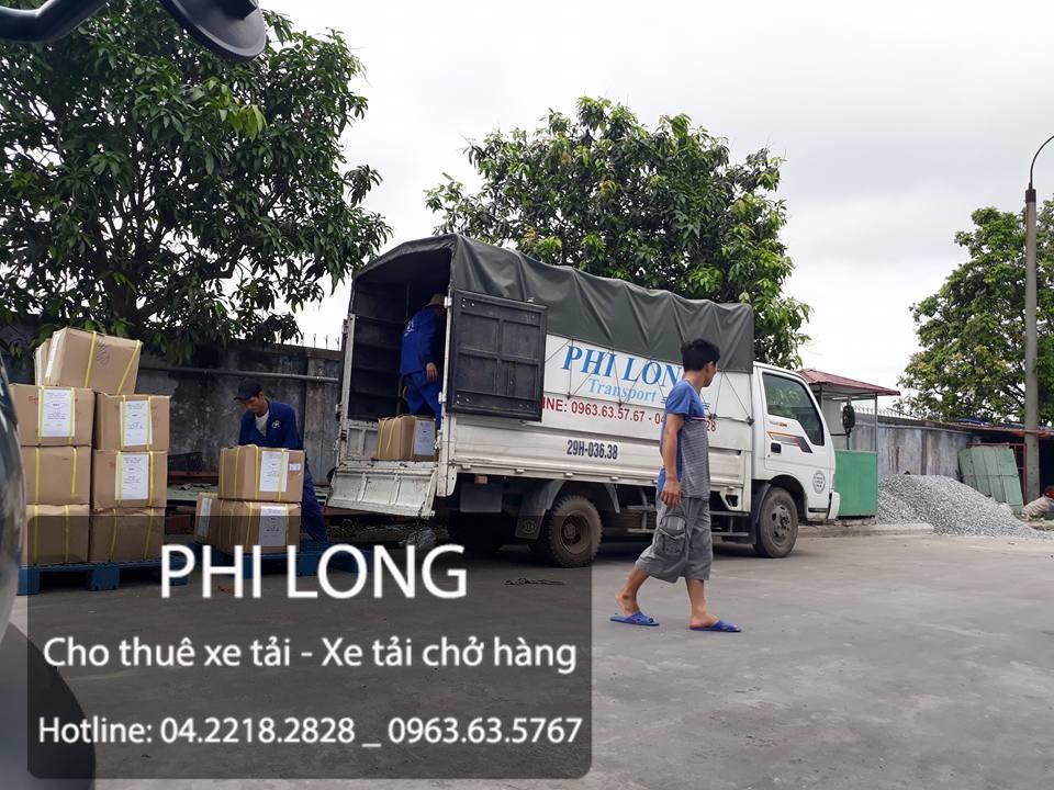 Vận tải Phi Long cung cấp dịch vụ cho thuê xe tải chở hàng tại phố Thanh Bình