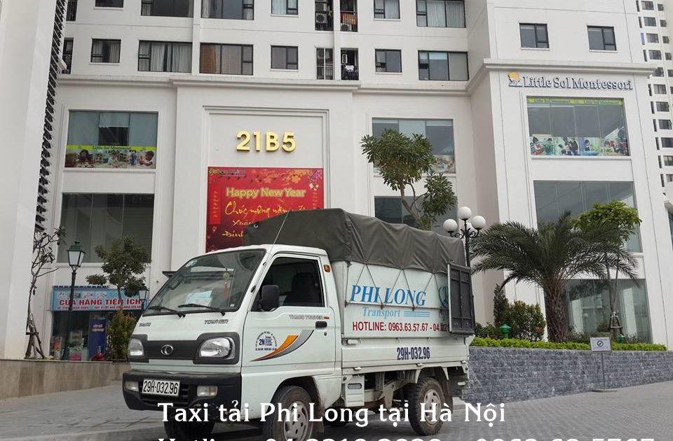 Dịch vụ taxi tải giá rẻ tại quận Tây Hồ