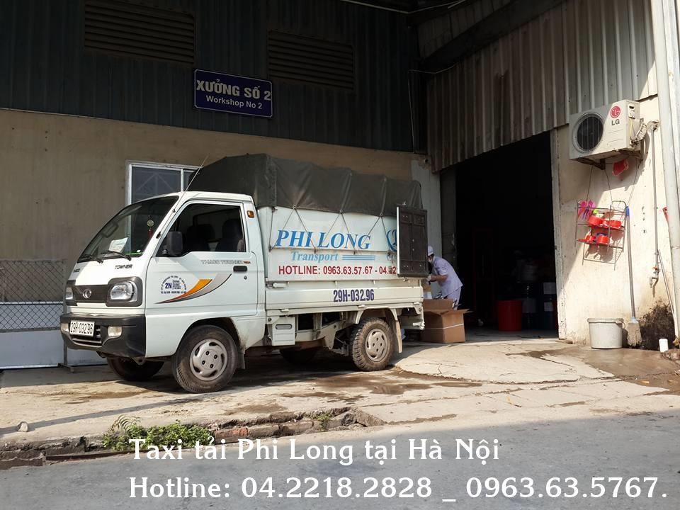 Cho thuê xe tải giá rẻ Phi Long tại quận Ba Đình