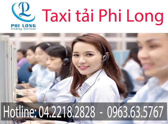 Hotline taxi tải giá rẻ Phi Long
