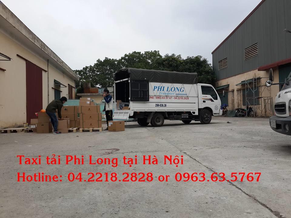 Taxi tải Phi Long tại thành phố Hà Nội
