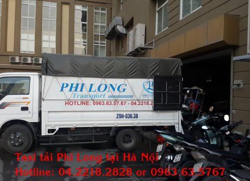 Phi Long cung cấp thuê xe tải tại quận Cầu Giấy