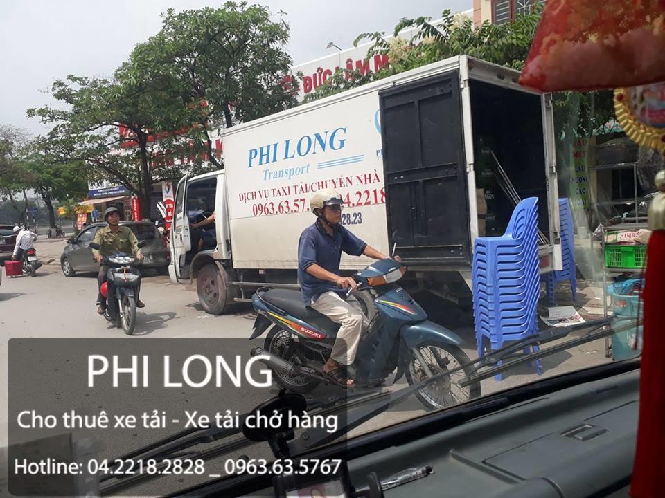 Cho thuê xe tải chuyển nhà giá rẻ tại đường Khương Đình