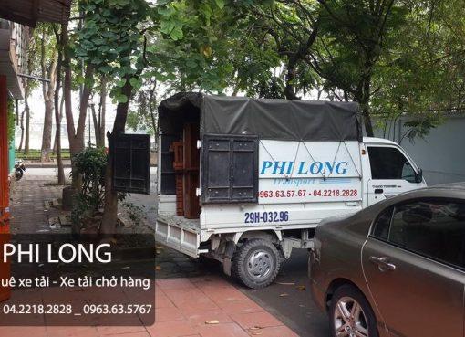 Dịch vụ taxi tải chuyển nhà Phi Long tại phố Ao Sen