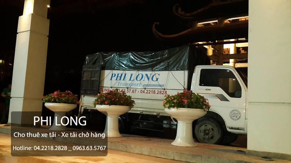 Cho thuê xe tải chuyên nghiệp giá rẻ tại phố Nguyễn Trãi