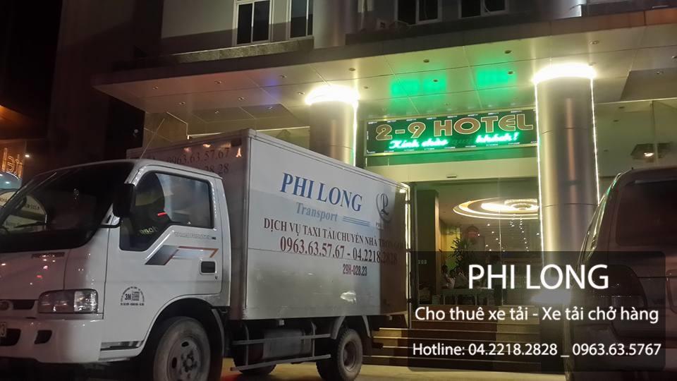 Dịch vụ cho thuê xe tải uy tín tại phố Nguyễn Trãi