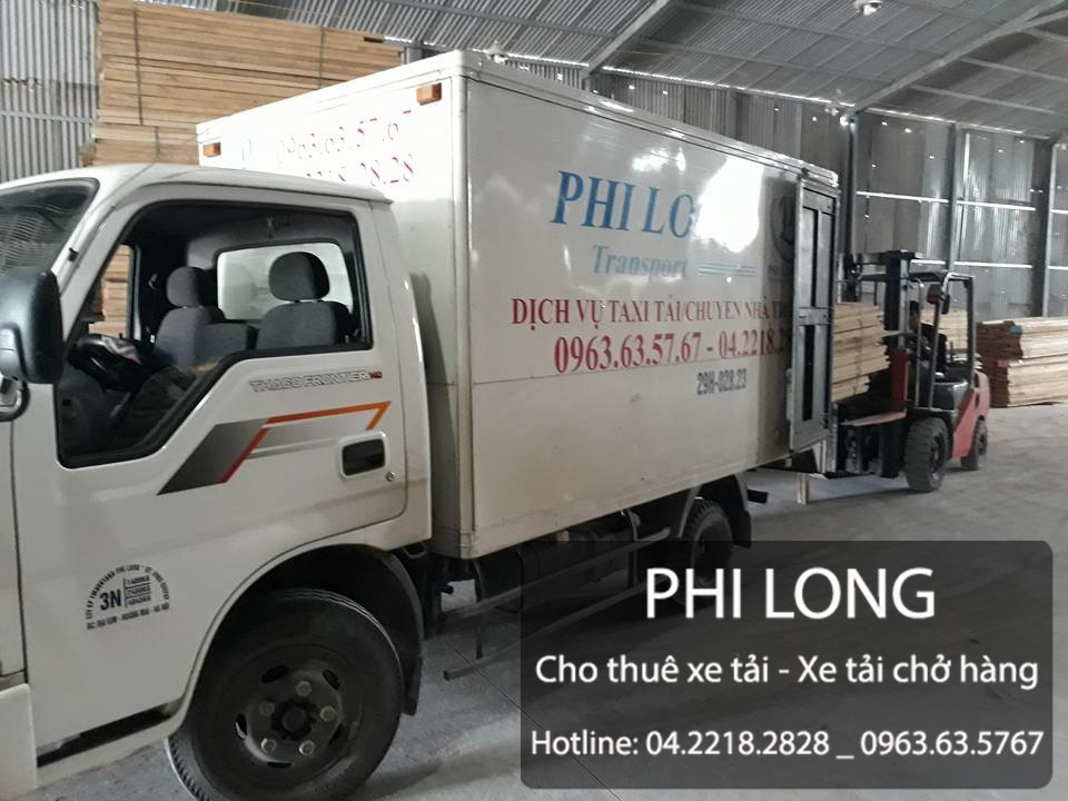Cho thuê xe tải chở hàng giá rẻ chuyên nghiệp hàng đầu tại phố Tô Hiệu