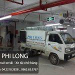 Taxi tải Phi Long hãng cho thuê xe tải chở hàng tại phố Nguyễn Quý Đức