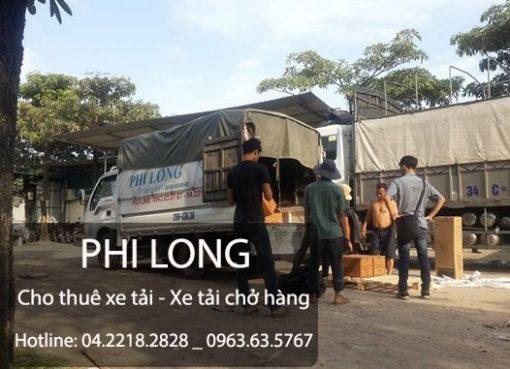 Cho thuê xe tải giá rẻ chuyên nghiệp tại phố Nhuệ Giang