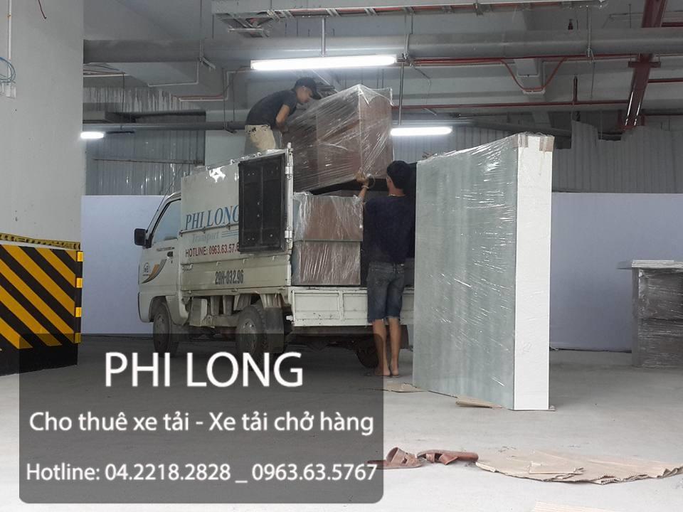 Cho thuê xe tải chuyển nhà trọn gói Phi Long tại phố Tô Hiệu