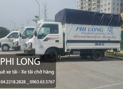 Dịch vụ xe tải vận chuyển giá rẻ tại phố Yên Nội