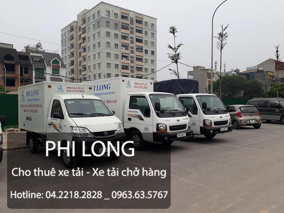 Dịch vụ xe tải chở hàng tại phố An Trạch