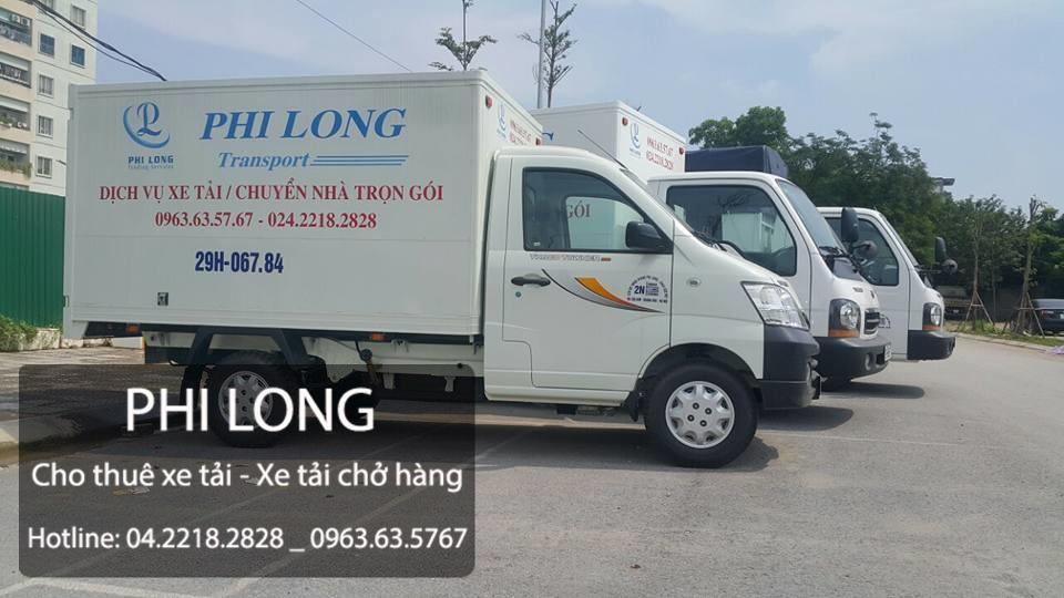 Dịch vụ xe tải tại phố Phúc Hoa