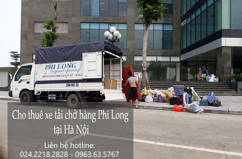 Dịch vụ cho thuê xe tải chở hàng giá rẻ tại phố Cao bá Quát
