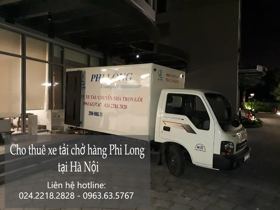 Dịch vụ xe tải nhanh chóng tại phố Nguyễn Tri Phương