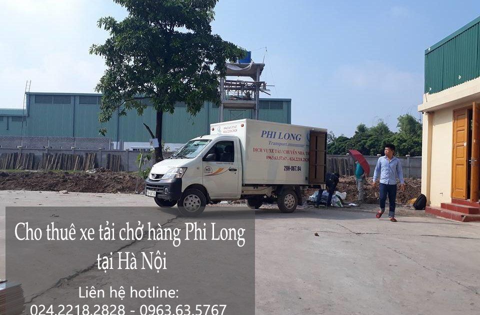 Dịch vụ xe tải cho thuê tại phố Đức Giang