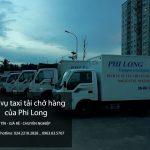 Dịch vụ xe tải chở hàng tại phố Phú Thượng