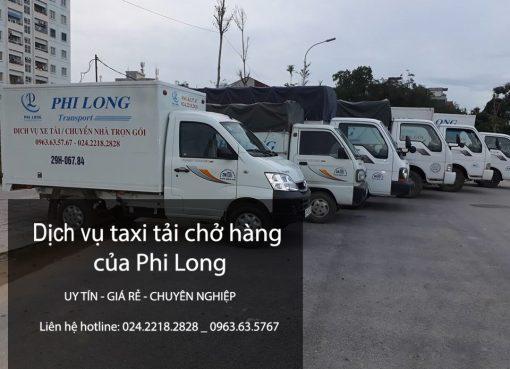 Dịch vụ xe tải chở hàng tại phố Ỷ Lan