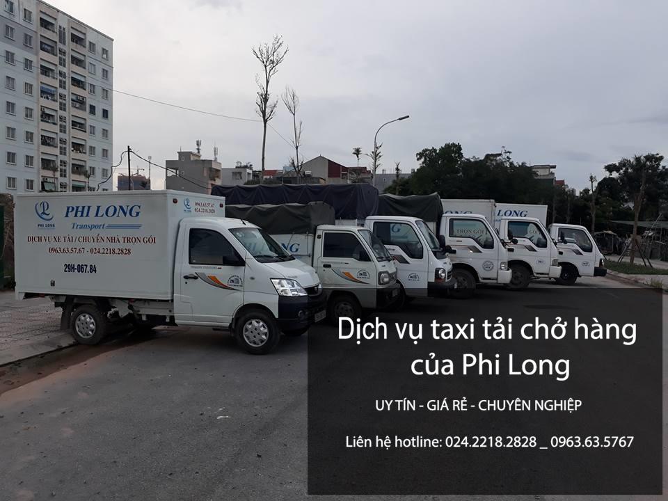 Dịch vụ xe tải chở hàng giá rẻ tại phố Vĩnh Hồ