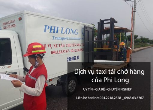 Dịch vụ xe tải chuyển nhà tại phố Phó Đức Chính