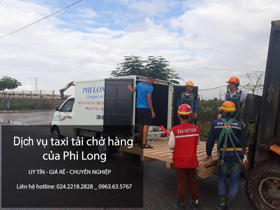 Dịch vụ taxi tải Hà Nội Phú Thọ