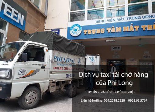 Dịch vụ taxi tải Hà Nội Thái Nguyên