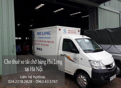 Dịch vụ cho thuê xe tải chở hàng tại phố Chu Huy Mân-0963.63.5767