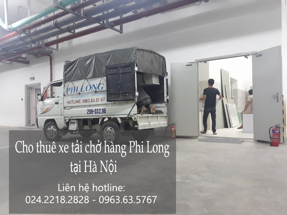 Dịch vụ xe tải chở hàng thuê tại phố Yên Duyên