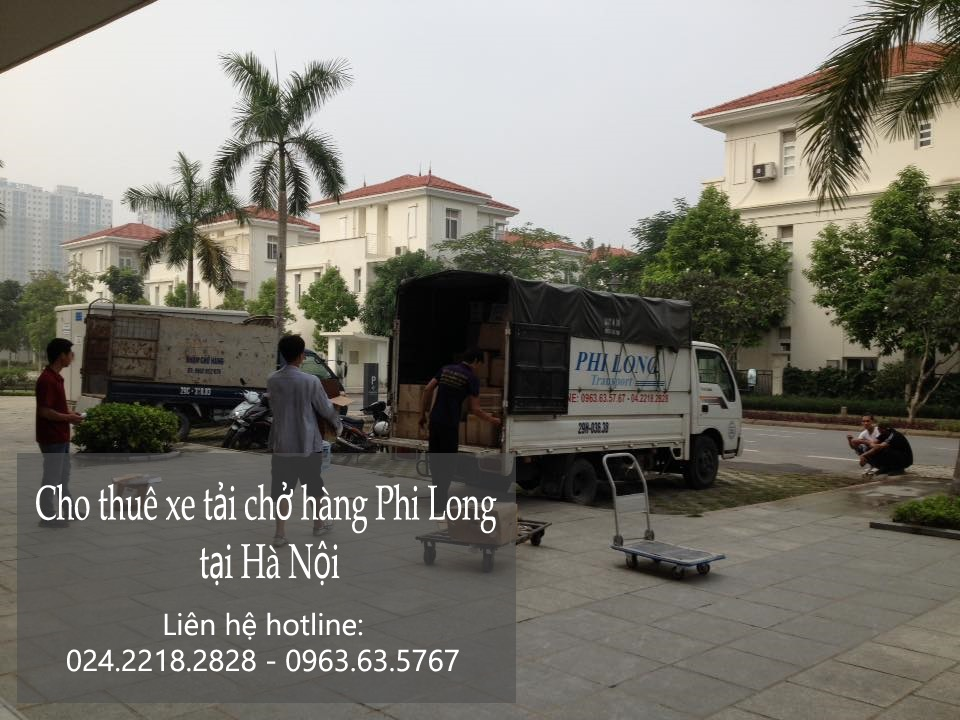 Dịch vụ xe tải vận chuyển tại phố Lê Trọng Tấn