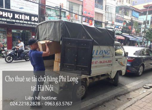 Dịch vụ cho thuê xe tải chuyển văn phòng tại phố Vũ Xuân Thiều