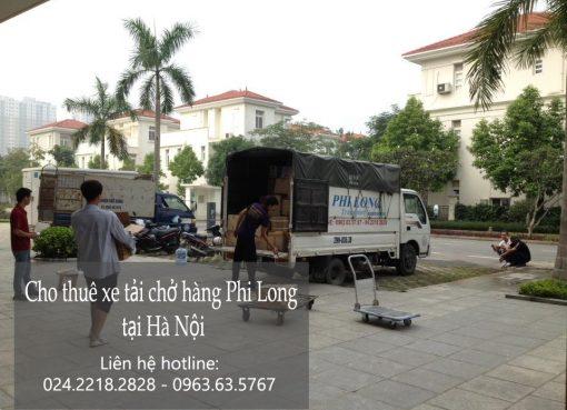 Dịch vụ cho thuê xe tải chở hàng tại phố Trịnh Hoài Đức