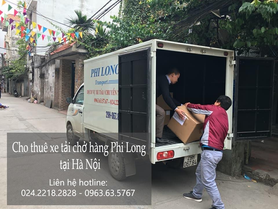 Dịch vụ xe tải giá rẻ tại phố Hoàng Đạo Thành