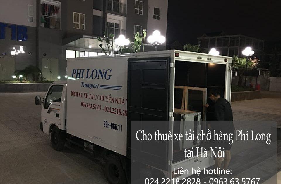 Dịch vụ xe tải vận chuyển tại phố Phó Đức Chính