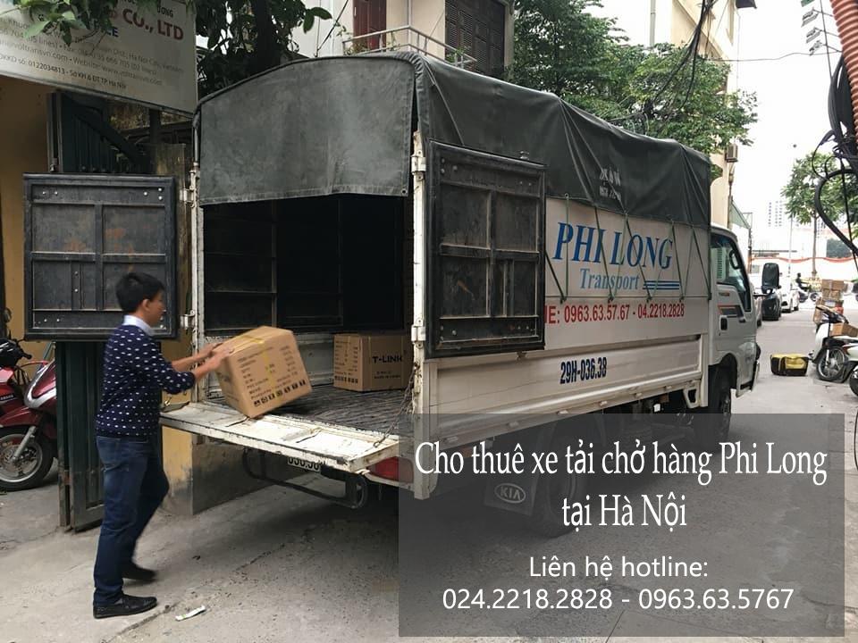 Dịch vụ xe tải cho thuê tại phố Võ Chí Công