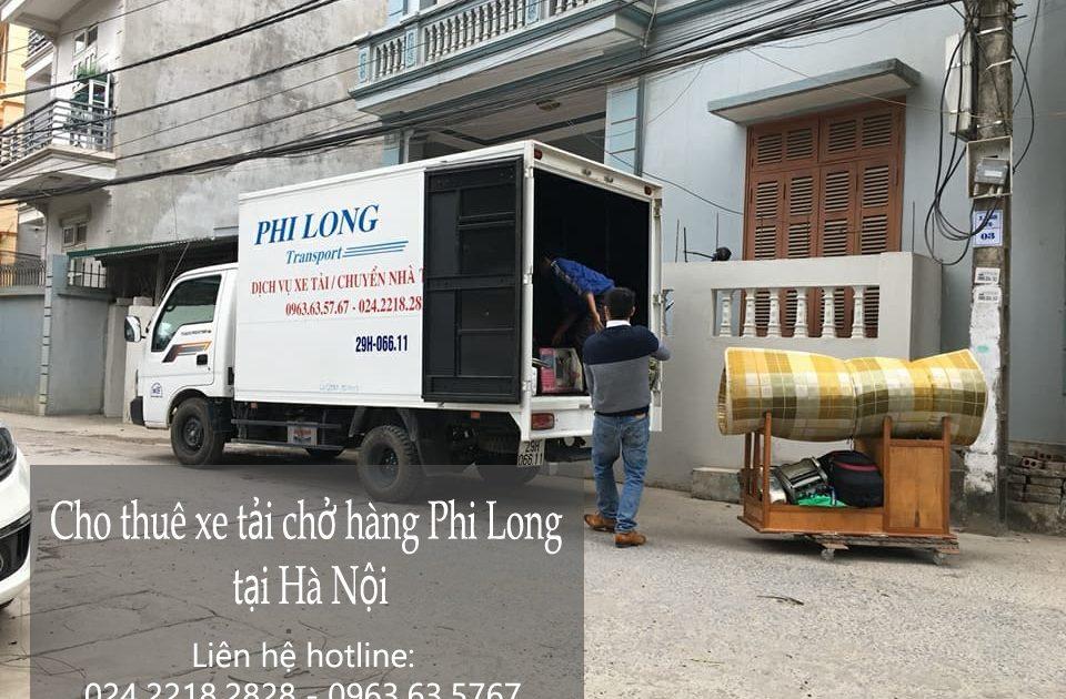 Dịch vụ cho thuê xe tải chở hàng tại phố Hội Xá