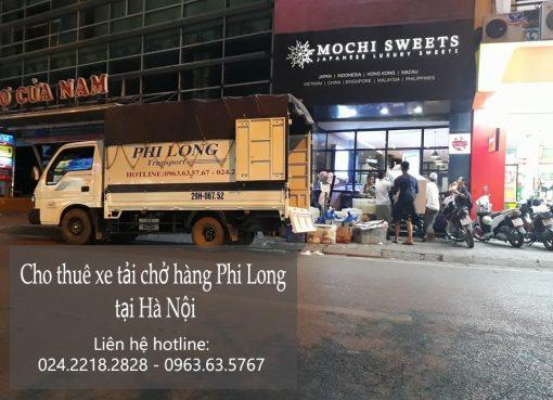 Dịch vụ taxi tải Hà Nội Điện Biên
