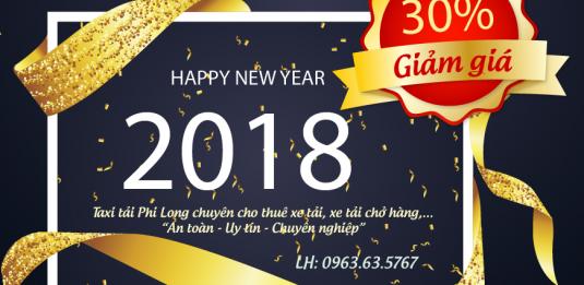Dịch vụ xe tải giá rẻ nhân dịp Tết Mậu Tuất 2018