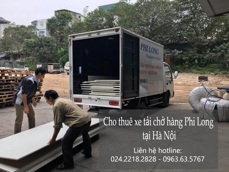 Dịch vụ xe tải 5 tạ tại phố Trần Nhân Tông