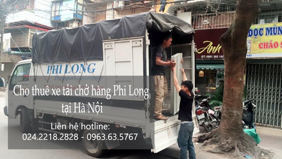 Dịch vụ xe tải chở hàng tại phố Trịnh Hoài Đức