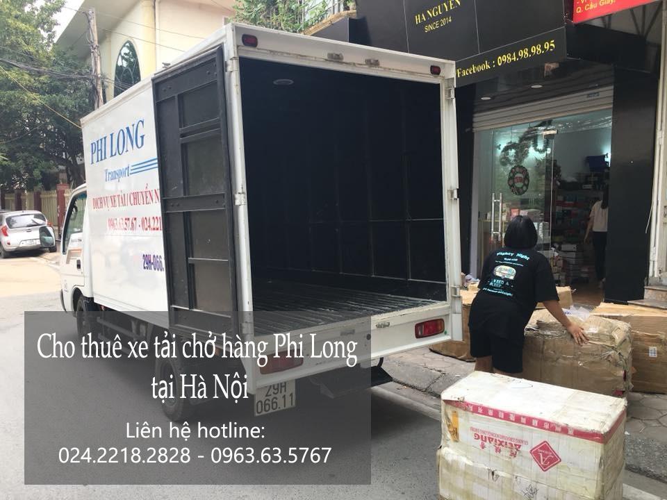 Dịch vụ thuê xe tải tại phố Nguyễn Phong Sắc