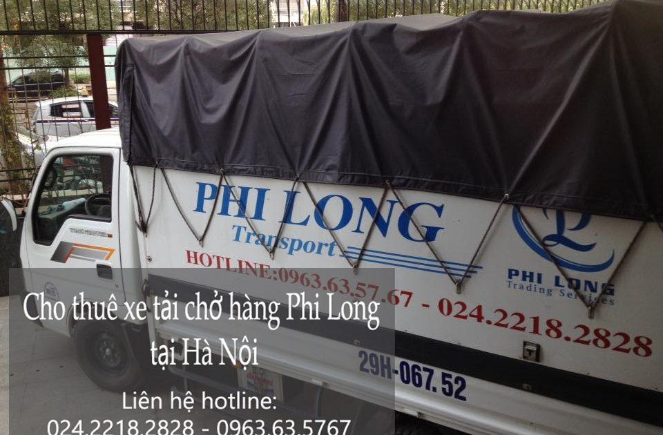 Dịch vụ xe tải tại phố Vũ Hữu
