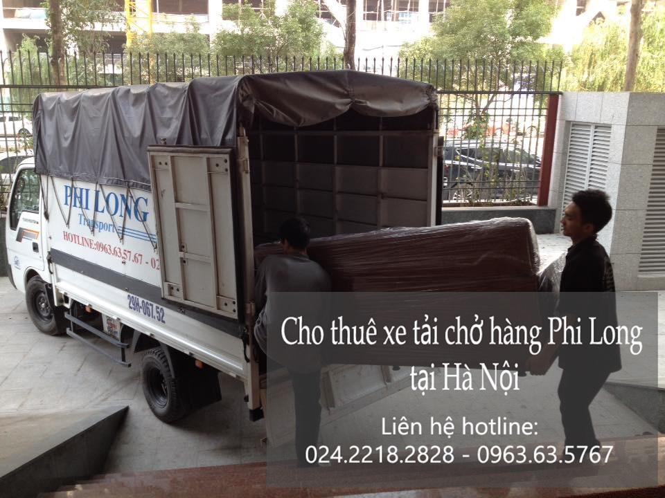 Dịch vụ xe tải vận chuyển tại phố Lương Ngọc Quyến