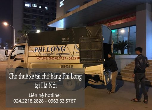 Dịch vụ xe tải chở hàng Phi Long tại khu đô thị Sài Đồng