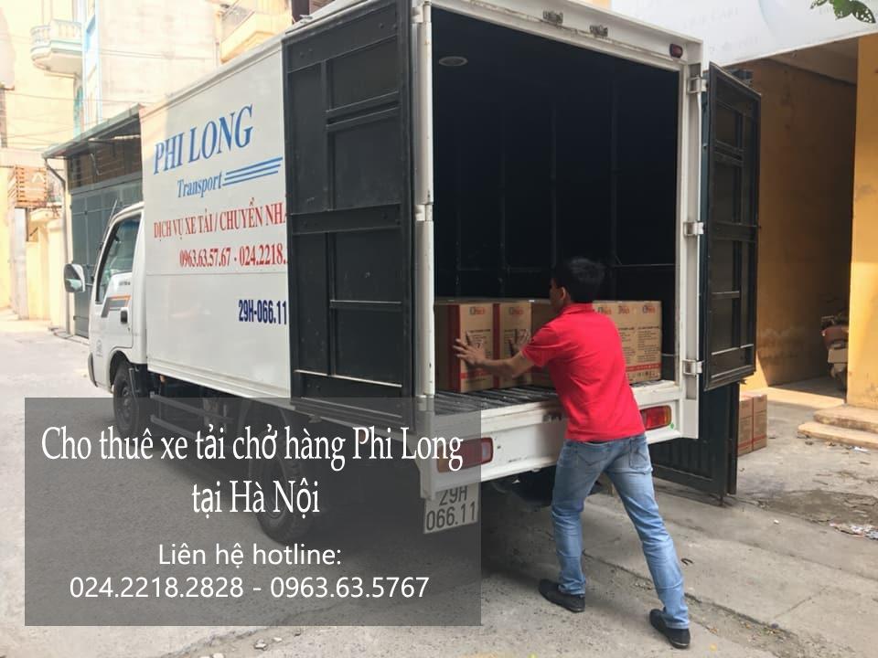 Dịch vụ xe tải giá rẻ tại phố Trần Duy Hưng